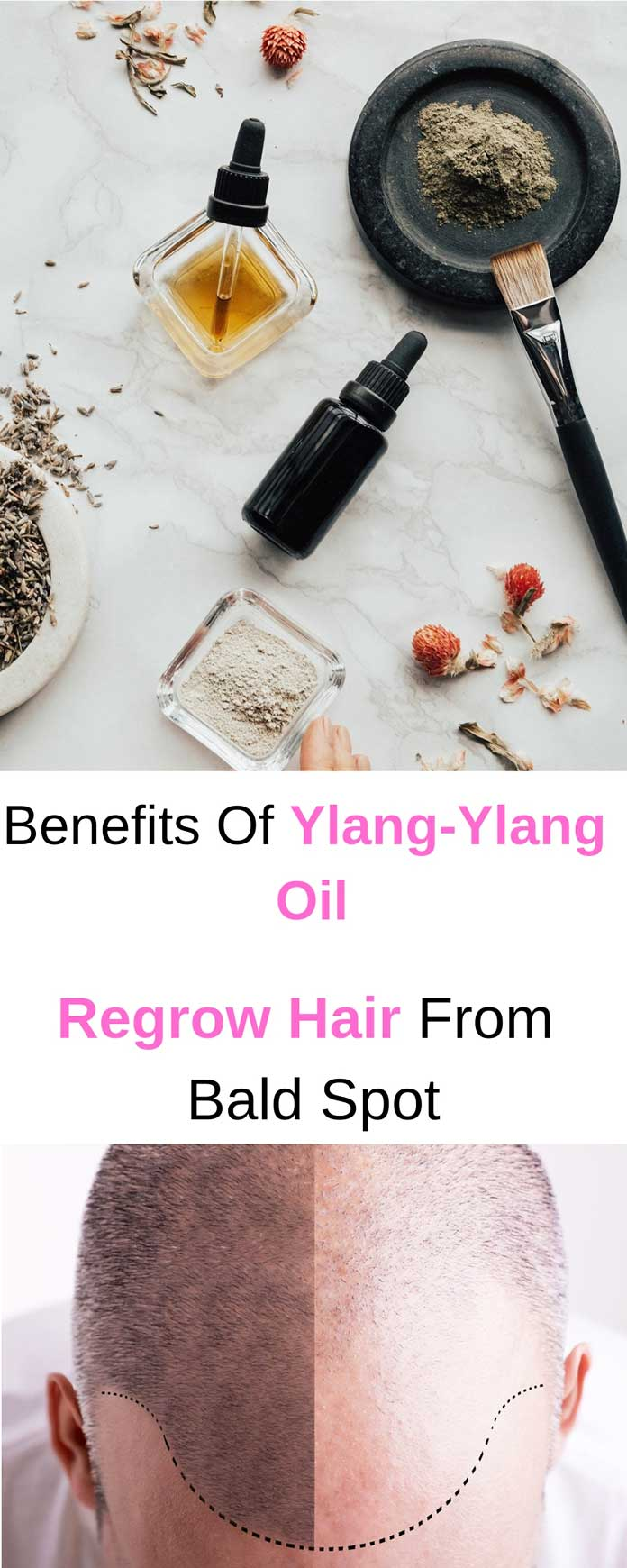 benefits of ylang ylang oil for hair growth