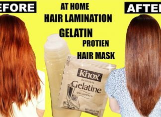 How To Use Gelatin Hair Lamination Treatment For Hair Growth