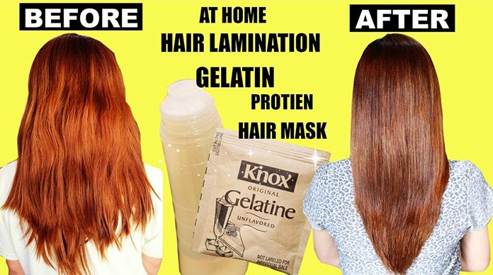 How To Use Gelatin Hair Lamination Treatment For Hair Growth