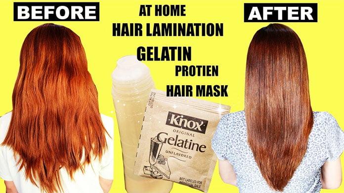 gelatin hair lamination