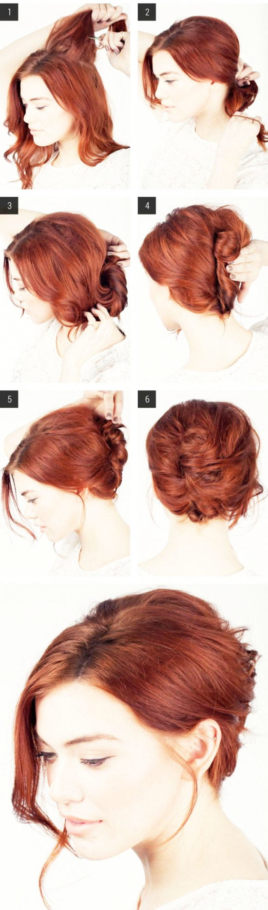 Classic Shell hairstyle
