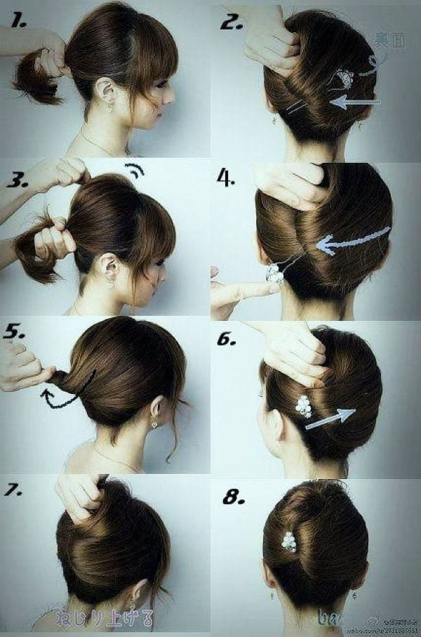 medium hair styles design