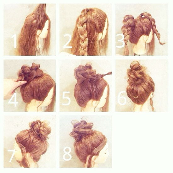 pony tail hair style