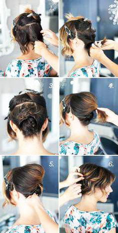 short beautiful braids