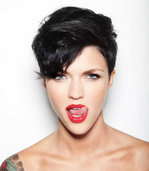 Short Pixie Easy Hairstyles for Thick Hair (13)