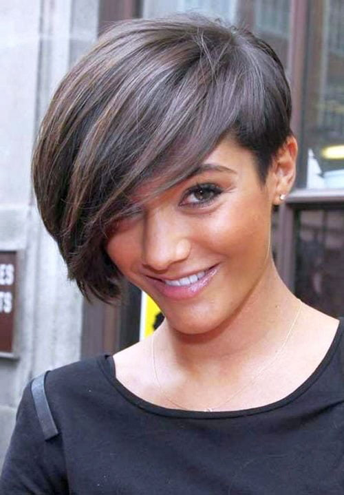 Short Pixie Easy Hairstyles for Thick Hair (15)