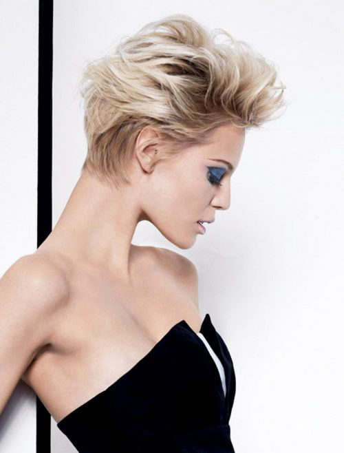Short Pixie Easy Hairstyles for Thick Hair (16)
