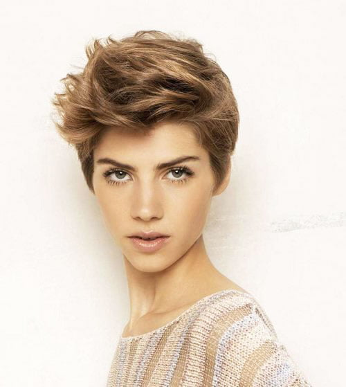 Short Pixie Easy Hairstyles for Thick Hair (20)