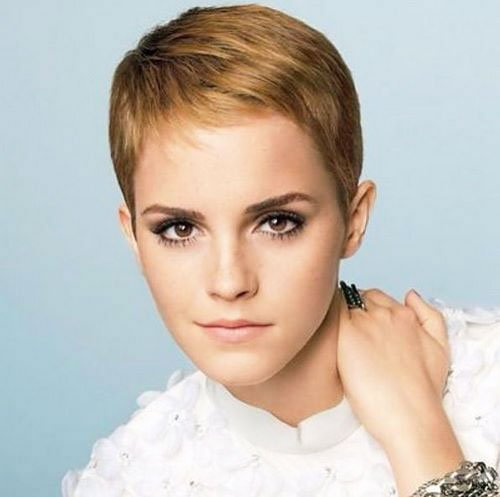 Short Pixie Easy Hairstyles for Thick Hair (21)