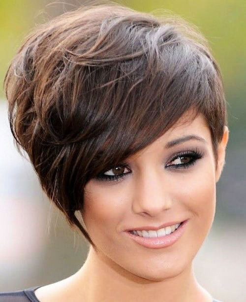 Short Pixie Easy Hairstyles for Thick Hair (22)