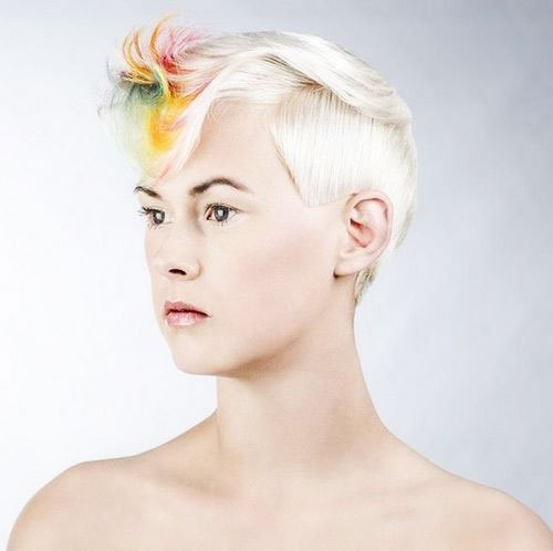 Short Pixie Easy Hairstyles for Thick Hair (24)