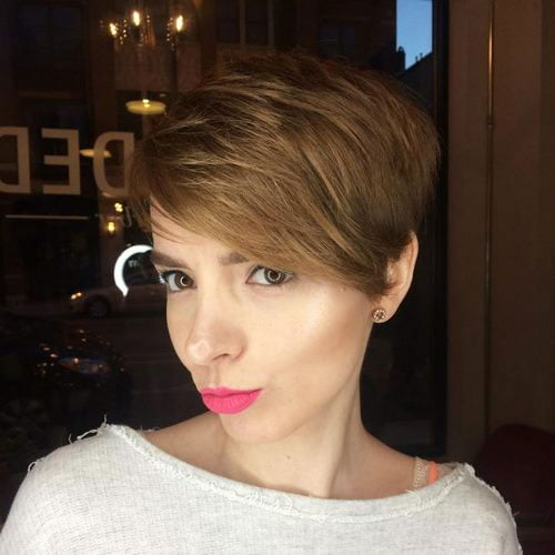 Short Pixie Easy Hairstyles for Thick Hair (26)