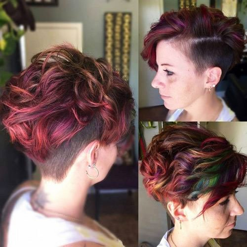 Short Pixie Easy Hairstyles for Thick Hair 28 5