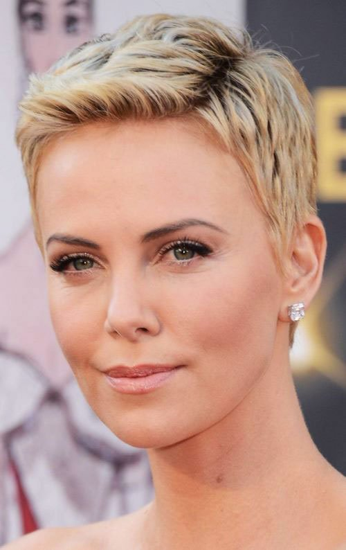Short Pixie Easy Hairstyles for Thick Hair 30 7