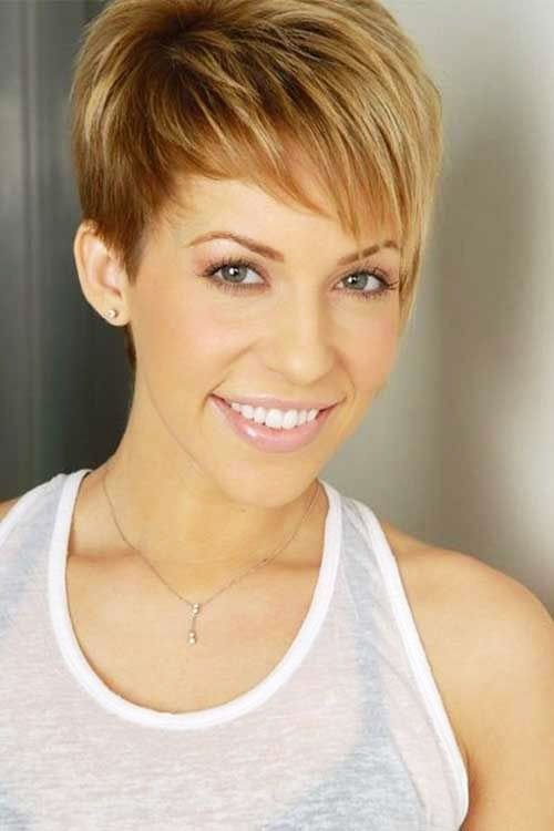 Short Pixie Easy Hairstyles for Thick Hair 33 10