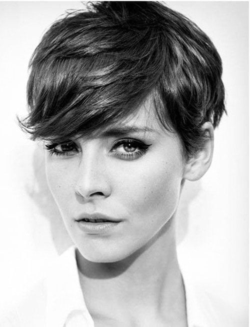 Short Pixie Easy Hairstyles for Thick Hair 36 13
