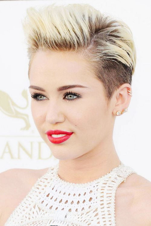 Short Pixie Easy Hairstyles for Thick Hair 37 14