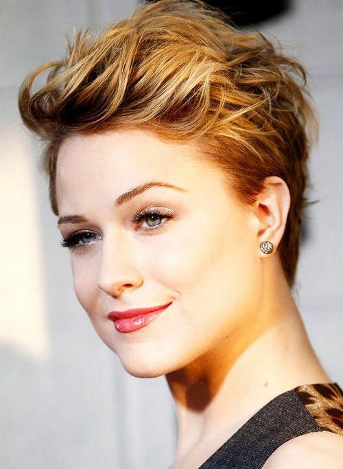 Short Pixie Easy Hairstyles for Thick Hair 38 15