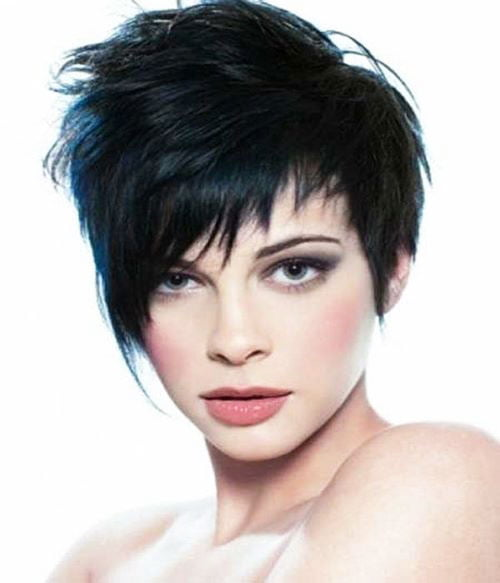 Short Pixie Easy Hairstyles for Thick Hair 43 20