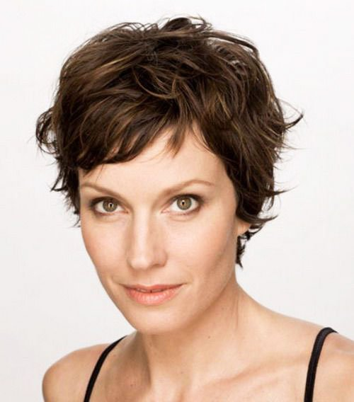 Short Pixie Easy Hairstyles for Thick Hair 46 23
