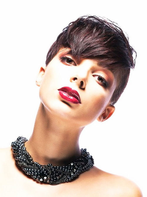 Short Pixie Easy Hairstyles for Thick Hair 50 27