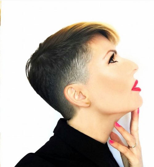 Short Pixie Easy Hairstyles for Thick Hair 51 28