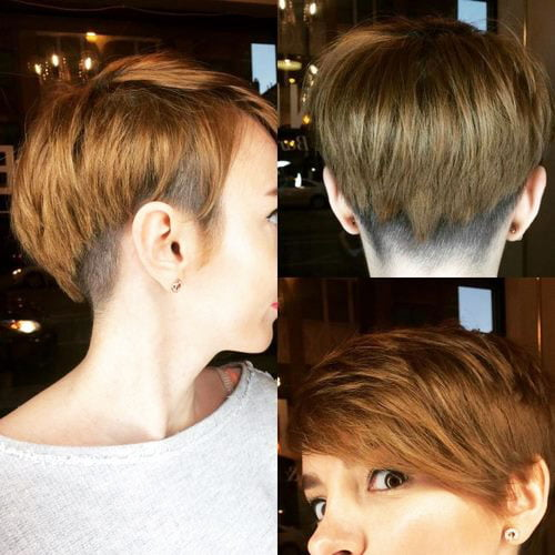 Short Pixie Easy Hairstyles for Thick Hair 52 29