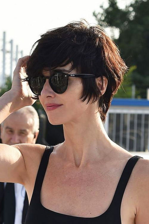 Short Pixie Easy Hairstyles for Thick Hair 56 33