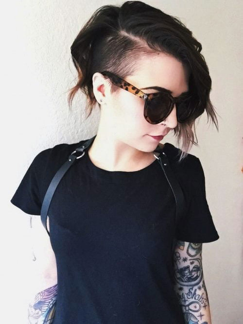 Short Pixie Easy Hairstyles for Thick Hair (58)
