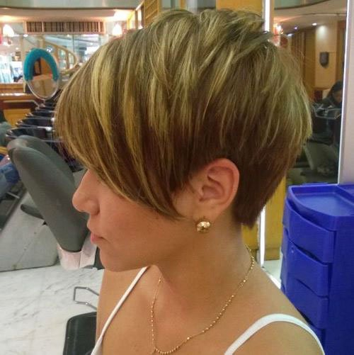 Short Pixie Easy Hairstyles for Thick Hair 61 36