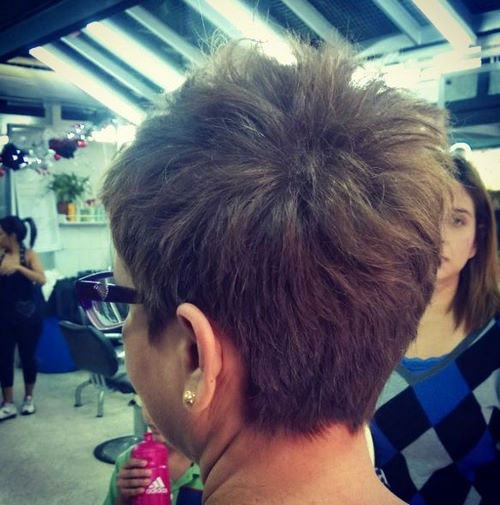 Short Pixie Easy Hairstyles for Thick Hair 62 37