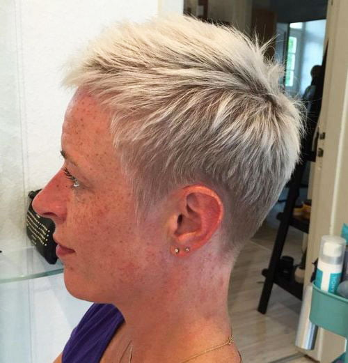 Short Pixie Easy Hairstyles for Thick Hair 64 39