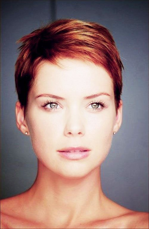 Short Pixie Easy Hairstyles for Thick Hair 66 41