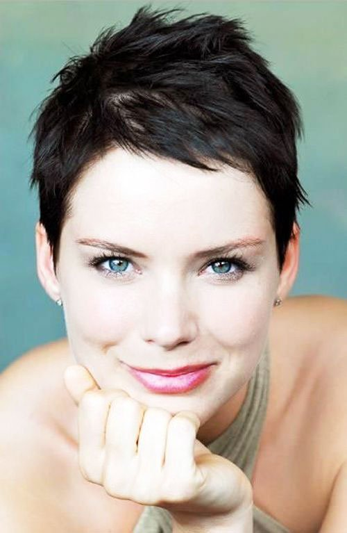 Short Pixie Easy Hairstyles for Thick Hair 67 42
