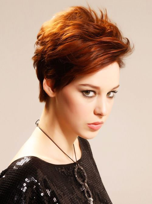 Short Pixie Easy Hairstyles for Thick Hair (68)