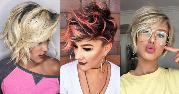 Short Pixie Easy Hairstyles for Thick Hair