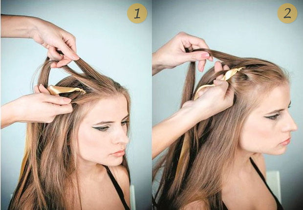 quick step by step easy hairstyles for long hair (15)