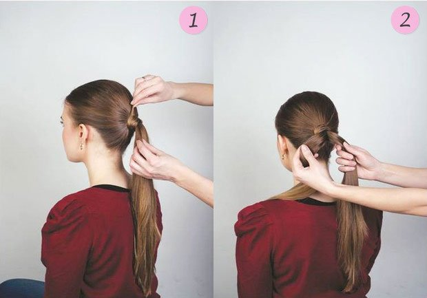 quick step by step easy hairstyles for long hair (17)
