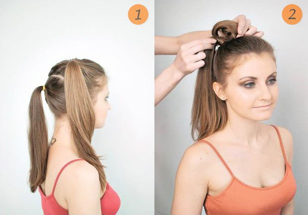 quick step by step easy hairstyles for long hair (16)