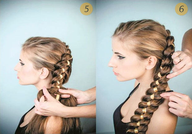 quick step by step easy hairstyles for long hair (22)