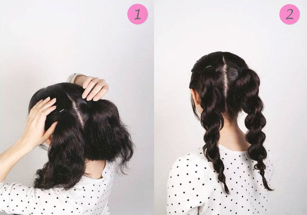 quick step by step easy hairstyles for long hair (25)