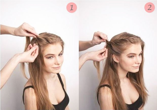 quick step by step easy hairstyles for long hair (27)