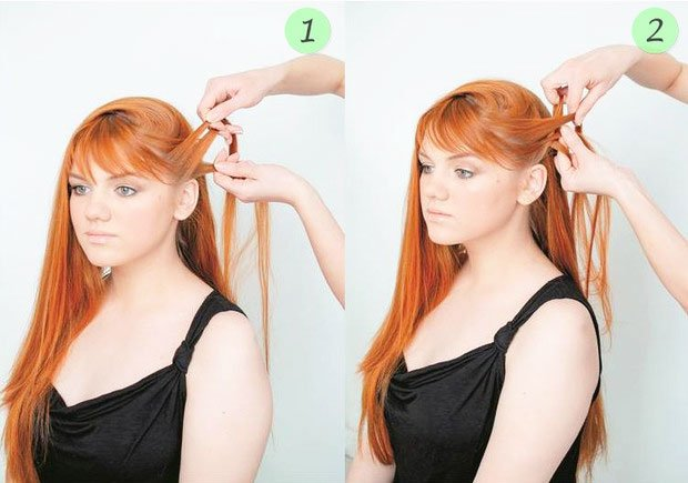 quick step by step easy hairstyles for long hair (28)