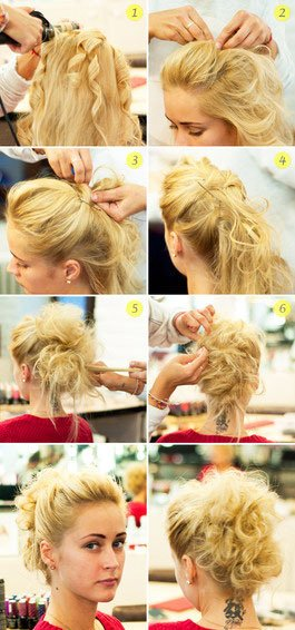 quick step by step easy hairstyles for long hair (3)