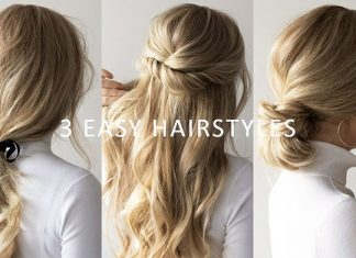 quick step by step easy hairstyles for long hair