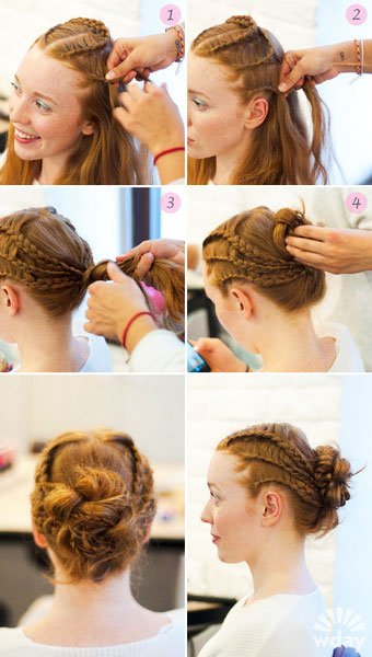quick step by step easy hairstyles for long hair (4)