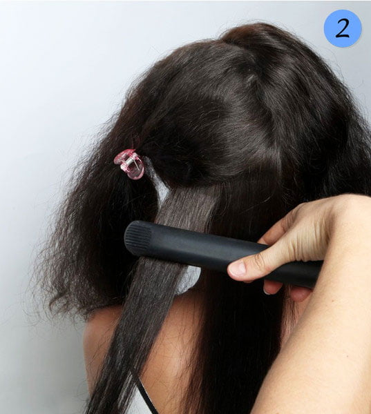 quick step by step easy hairstyles for long hair (5)
