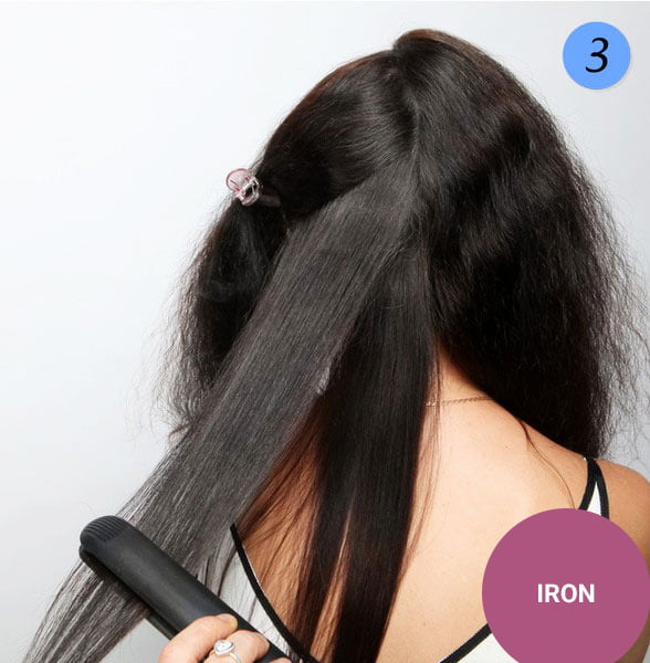 quick step by step easy hairstyles for long hair (8)
