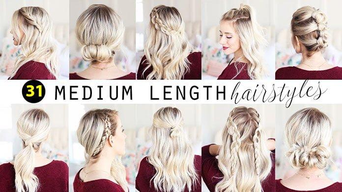 Easy Hairstyles For Medium Length Hair