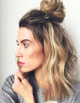 Easy Hairstyles for Medium Length Hair (122)